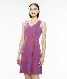 Robe rose imprimée Famous