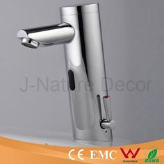 79.00$  Watch now - http://alianz.worldwells.pw/go.php?t=2028101177 - Chromed Health Automatic Infrared Sensor Bathroom Faucets (Cold)