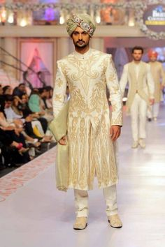Stylish Groom & Bridal Wear Collection 2015 | Fashionpres