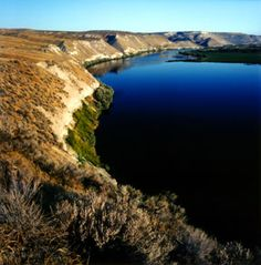 Hagerman Fossil Beds National Monument in Idaho