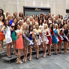 MissUSA contestants on the TODAY show plaza (Yosef Herzog / TODAY) Check out Kendyl Bell Miss Utah USA!