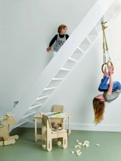 Kids room - Indoor swing