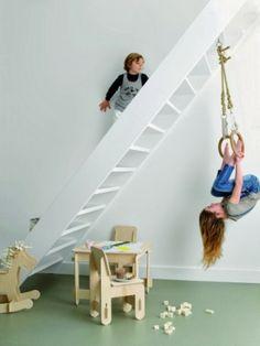 Kids room - Indoor swing - Via Rafa Kids