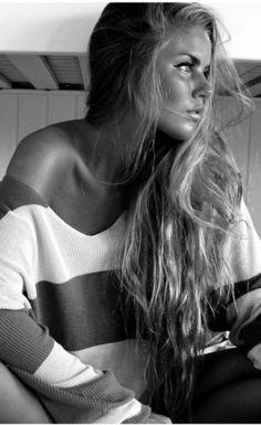 Stripes + Long Hair