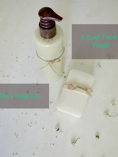 How to make liquid Face Wash from soap bar-Chamomile & Honey An easy and quick recipe to make your own face cleanser from a soap bar!