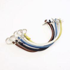 JP Rawhide bracelet in colors!  Regram: @public_osaka_2f