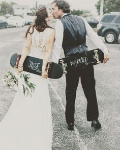 Cool Skateboard Themed Wedding Ideas Picture 6