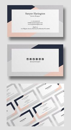 An elegant business card template, perfect for your next project. New classy beautiful multipurpose business cards are ideal for personal, professional branding Minimal Business Card, Business Card Psd, Elegant Business Cards, Unique Business Cards, Creative Business, Business Card Templates, Corporate Business, Minimal Logo, Corporate Design