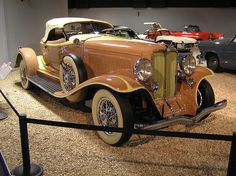 National Auto Museum, Reno - 1933 Auburn Speedster by The Brucer, via Flickr