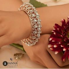 Diamond Bracelets, Bangle Bracelets, Diamond Jewelry, Gold Jewellery, Tanishq Jewellery, Bridal Jewellery, Silver Jewelry, Gold Bangles Design, Jewelry Design