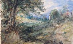 John Constable watercolour