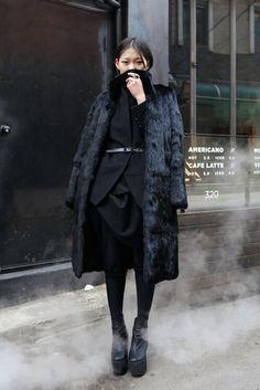 Kuschlige Fellmäntel finden Sie hier auf FashionVestis.com