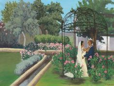 Wedding Painting From a Photo — Mary Paints Weddings