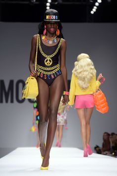 Moschino Barbie collection 2014 Jeremy Scott a0687f1c130