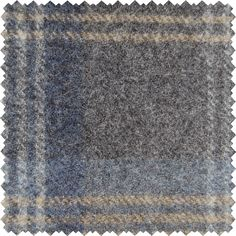 Sanderson Woodford Plaid is the largest design woven on a multi-coloured warp with a different striped pattern in the weft. This style is known as a Madras Check and creates a less formal look than traditional tartans. Shown here in: Indigo.