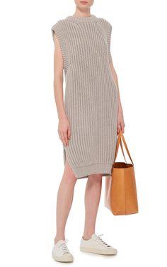 Sleeveless Knit Rib Dress by I LOVE MR. MITTENS Now Available on Moda Operandi