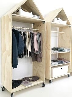 Motorcycle wardrobe - Heim w - Mobel - - Plywood Furniture, Kids Furniture, Furniture Design, Furniture Stores, Furniture Legs, Barbie Furniture, Rustic Furniture, Garden Furniture, Plywood Cabinets