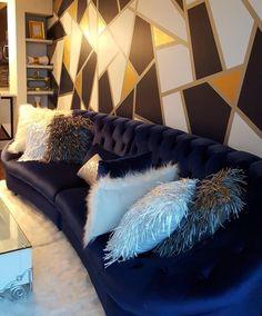 Home Interior Design .Home Interior Design Living Room Decor Cozy, Chandelier In Living Room, Home Living Room, Apartment Living, Living Room Designs, Bedroom Decor, Dream Rooms, My New Room, House Rooms