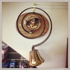 Create your own Downton Abbey with our 'Internal Brass Bell' (MDSBPIN). http://www.relicsofwitney.co.uk/search/results/MDSBPIN
