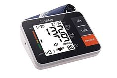 AccuMed ABP802 Upper Arm Blood Pressure Monitor with AudioVoiced Instructions  Readouts  Black -- Want to know more, click on the image.