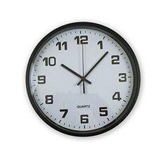 Amazing Elvoki Best Wall Clock with Arabic Numerals - Office, Classroom Clocks