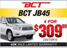 BCT JB45 - 4 for $309.99