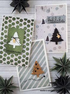 Christmas Card Crafts, Christmas Scrapbook, Stampin Up Christmas, Christmas Paper, Card Making Templates, Card Making Kits, Card Making Supplies, Stampin Up Weihnachten, Winter Karten