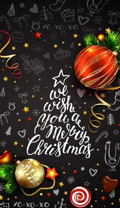 Super Wallpaper Iphone Christmas Quotes Happy New Year Ideas Merry Christmas Pictures, Christmas Mood, Merry Christmas And Happy New Year, Christmas Quotes, Christmas Wishes, Christmas Greetings, Illustration Noel, Holiday Wallpaper, Montage Photo