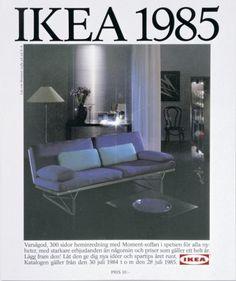 IKEA 1985~ When interior design was good