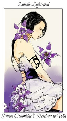 Art from Cassandra Jean ... isabelle lightwood, the mortal instruments