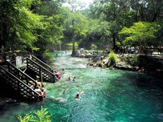 This could be one of the world's most beautiful swimming spots, and it's right here in the USA.