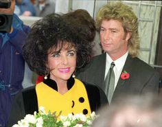 #8 ELIZABETH TAYLOR & LARRY FORTENSKY ~ In October 1991, Taylor married Larry Fortensky, a truck driver and construction worker, she met while both were undergoing treatment at the Betty Ford Center. They divorced in October, 1996. This was her LAST MARRIAGE.