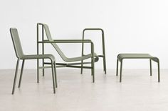 Palissade is a lovely new upcoming outdoor furniture collection designed by  Ronan & Erwan Bouroullec for danish furniture brand HAY. Launching at  Maison & Objet in Paris, the Palissade collection will be available in  three colours from Spring 2015.  [hay.dk]