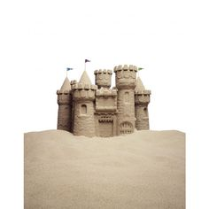 The Sandcastle LeaderScripts ❤ liked on Polyvore featuring backgrounds, sandcastles, beach, accessories and swim stuff