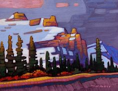 A collection of Paintings by Canadian Painter Nicholas Bott. Canadian Art, Abstract Artists, Cool Artwork, Canadian Artists, Tree Art, Painting, Art, Van Gogh Art, Winter Art