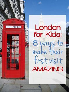 Visiting the city with children? These are some must know tips for a first visit to the London for kids. Where to go, what to see and how to travel. www.tamingtwins.com