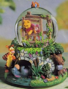 inspiration for a cake-Disney Snowglobes Collectors Guide