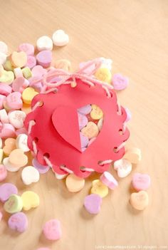 This Heart candy holder is super cute.