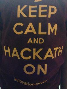 Keep calm and hackathon