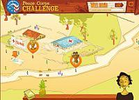Peace Corps Challenge est une simulation qui montre ce à quoi peut ressembler la vie d'un volontaire à l'aide internationale.