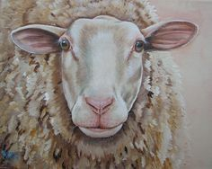 colorful sheep painting - Google Search