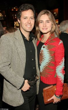 Quite a pair: The couple were made to last, attending events together shortly after Lauren completed her studies in 2006