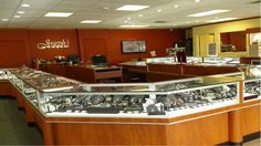 Joseph's Jewelry in Stuart, Florida has been remodeled. This is our new interior.