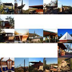 Taliesin West Shelters