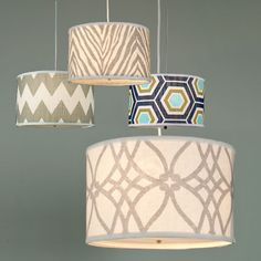 lampshades love the vintage style