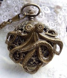 Energetic Nautical Maritime Brass Pocket Watch With Chain Fully Working To Rank First Among Similar Products Maritime