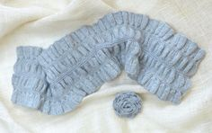 Ruffled & Ruched Scarf Kit - None