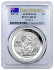 ✔♣ 2017-P Australia $#1 #1 oz. Silver #Koala PCGS MS69 First Strike (Flag) S... Best http://ebay.to/2eKiBhr