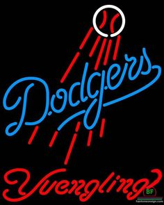 6fbe8ec46ea Yuengling Los Angeles Dodgers Neon Sign MLB Teams Neon Light