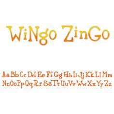 Sizzix Sizzlits Decorative Strip Alphabet Die - Wingo Zingo $19.99